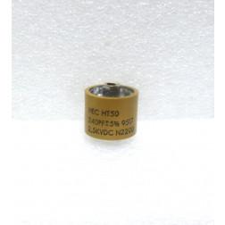 580240-2.5 Doorknob Capacitor, 240pf 2.5kv, High Energy (Clean Pullout)