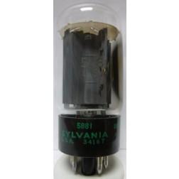6L6WGB / 5881 Tube,  Beam Power Amplifier MFR: Sylvania-JAN