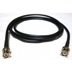 59B-BMBM-6 Pre-Made Cable Assembly, 6 foot / 72 Inches, RG59B/U w/BNC Male (75 ohm)
