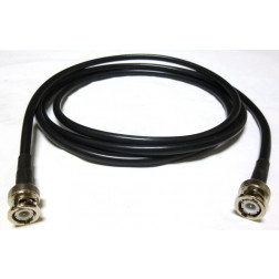 58C-BMBM-7 Pre-Made Cable Assembly, 7 foot / 84 Inches, RG58C/U w/BNC Male (AAA-1001-84)