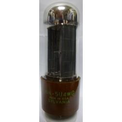 5U4WG Tube, Full-Wave High-Vacuum Rectifier, US brand