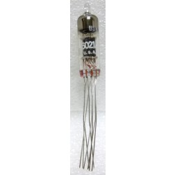 6021 Tube,sub miniature,wire lead, Medium Mu Twin Triode