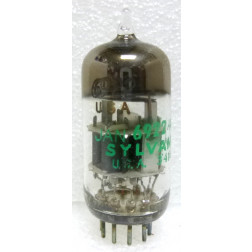 6922-JAN  Audio Tube, 6922 /E88CC, Twin Triode, JAN/Sylvania USA