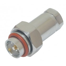 716M12S 7/16 DIN Male Connector, FSJ4-50B, Konectz