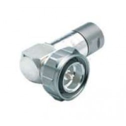 716M50VL12N  7/16 DIN Male Right Angle connector for EC4-50 Cable, Eupen