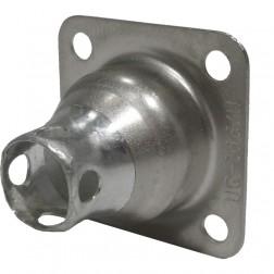 83-1H 4 Hole Flange Hood for 83-1R Connector (UG106/U), Amphenol
