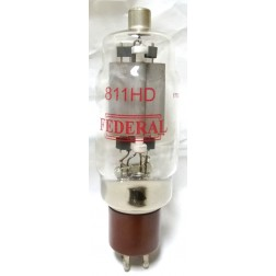 811HDMQ-FED  Transmitting Tube, Heavy Duty Replacement for 811A, Matched Set of 4, Federal