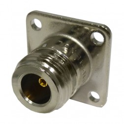 82-97-RFX Type-N Female Chassis Connector, Amphenol