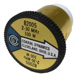 CD82005 wattmeter element, 2-30 mhz 100watt, Coaxial Dynamics