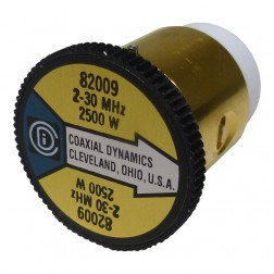 CD82009 wattmeter  element, 2-30mhz 2500watt, Coaxial Dynamics