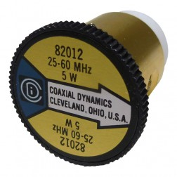 CD82012 wattmeter element, 25-60mhz 5 watt Coaxial  Dynamics