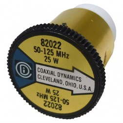 CD82022  wattmeter element, 50-125mhz 25 watt, Coaxial Dynamics