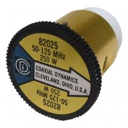 CD82025 wattmeter element, 50-125mhz 250watt, Coaxial Dynamics