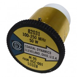 CD82031 wattmeter element,100-250 mhz, 50 watt, coaxial dynamics