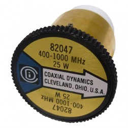 CD82047 wattmeter element, 400-1000    mhz 25 watt, coaxial dynamics