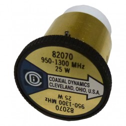 CD82070 Wattmeter  element. 950-1300 mhz 25w, Coaxial, Dynamics