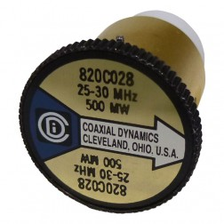 CD820C028 Wattmeter Element, 25-30 MHz 500mw, Coaxial Dynamics
