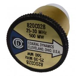 CD820C028 Wattmeter Element, 25-30 MHz 500mw, Coaxial Dynamics