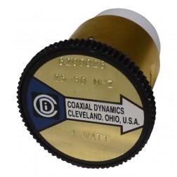 CD820D028  Wattmeter Element,  25-30 mhz 1w, Coaxial Dynamics