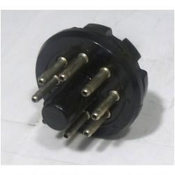 8PINACCPLUG 8 Pin Octal Male Accessory Plug, Amphenol