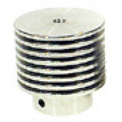 HR8 Plate cap, Finned Aluminum, Fits on 3-1000Z / 4-1000A / 4PR1000A/ 833