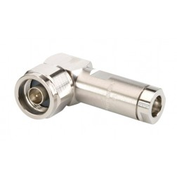 L1TNR-PL Type-N Male Connector, Right Angle, Hex Nut, LDF1-50,  Andrew / Commscope
