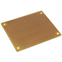 single sided boards standard perforated circuit boards rh rfparts com