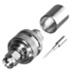 RSA3000-I SMA Male Crimp Connector, Straight, Cable Group I. RG8, 9913, LMR400, RF Industries