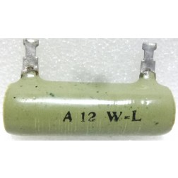 A12-WL Wirewound Resistor,12 ohm 25 watt, Ward Leonard
