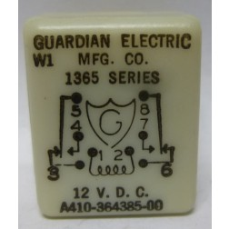 A410-364385-00  Relay, 1365 Series, 12v, Guardian