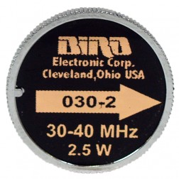 BIRD030-2 Bird, wattmeter element 30-40 mhz 2.5w, Bird