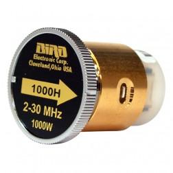 BIRD1000H  Bird Wattmeter Element,  2-30 MHz, 1000 Watt, Bird