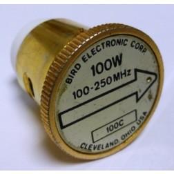 BIRD100C-3 - Bird Element, 100-250 MHz, 100 watt (Used condition)