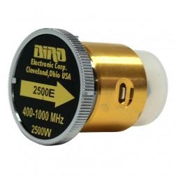BIRD2500E  Bird Wattmeter Element,  400-1000 MHz, 2500 Watt, Bird