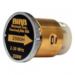 BIRD2500H  Bird Wattmeter Element, 2-30 MHz, 2500 Watt, Bird