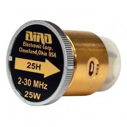 BIRD25H  Bird Wattmeter Element,  2-30 MHz, 25 Watt, Bird