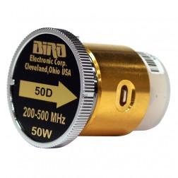 BIRD50D  Bird Wattmeter Element,  200-500 MHz, 50 Watt, Bird