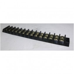 BTS14-20  Double Row Barrier Terminal Strip, 14 position, 20 amp