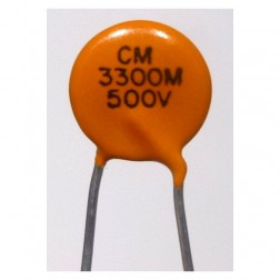 C332-500 Capacitor, .0033uf 500v