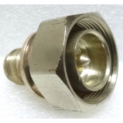 CA-PNFDM  Between Series Adapter, 7/16 DIN Male to Type-N Female, Andrew (Clean Used Conditon)