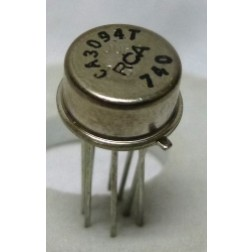 CA3094AT 8 pin, 30MHz, High Output Current Operational Transconductance Amplifier (OTA), RCA
