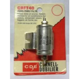 CBFT40 Filter, noise .5uf 40amp, Cornelll Dubilier