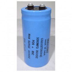 CGS102T350V Electrolytic Capacitor, 1000uf 350v, Computer Grade, Mallory