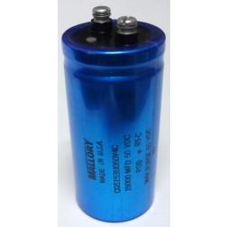 CGS153U050 Electrolytic Capacitor, 15000 uf 50v, Computer Grade, Mallory