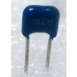 CM102-50 Ceramic Monolythic Multilayer Capacitor, 0.001uf 50v, 20%