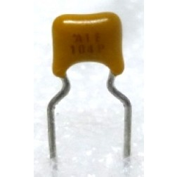 CM104-100 Ceramic Monolythic Multilayer Capacitor, 0.1uf 100v, Monolythic