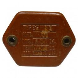 CM55-01/600 Capacitor, mica, .01 uf/600v