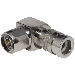 COMP-NRA-400 Type-N Male Right Angle Connector Assembly, Cable Group I, RF Industries