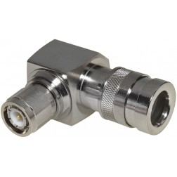COMP-TRA-400 TNC Male Right Angle Connector, Cable Group I, RFI