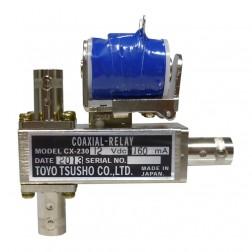 CX230-12 Coaxial relay, SPDT, Female BNC (3-BNC), 12 volt, Tohtsu